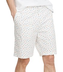 "tommy hilfiger men's palm tree print 9"" shorts"