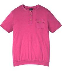 henley-t-shirt med bekvämt snitt