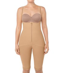 body faja media pierna - faja beige leonisa