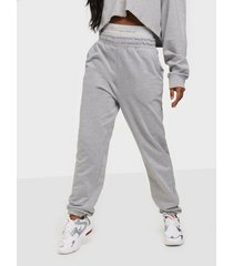 missguided mg script tape joggers byxor & shorts