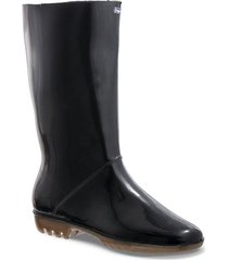 botas feminela negro para mujer croydon