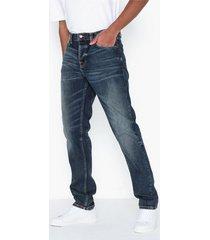 nudie jeans steady eddie ii indigo shades jeans indigo