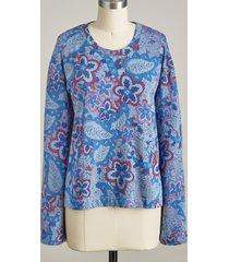 paisley joy sweatshirt