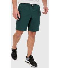 pantaloneta verde reebok