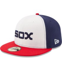 new era kids' chicago white sox authentic collection 59fifty cap