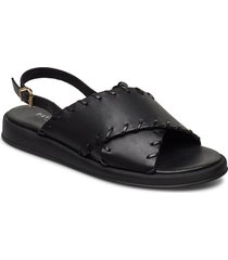 sif shoes summer shoes flat sandals svart pavement
