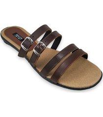 sandalia marrón ragazzini