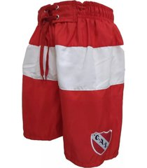 short de baño rojo oficial independiente