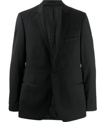 karl lagerfeld sebastien single-breasted blazer - black