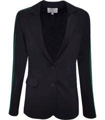 zwarte elvira casual blazer 19-049 elisa/004