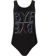body bye bye color negro, talla 10