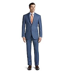 reserve collection tailored fit glen plaid men's suit clearance by jos. a. bank