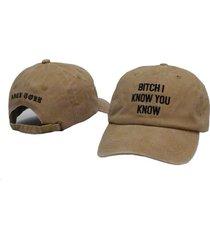 rihanna hat i know you know letter dad hat anti tour baseball cap hip hop