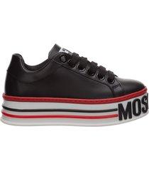 scarpe sneakers donna in pelle cassetta