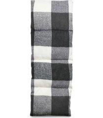 steve madden men's plaid puffer scarf