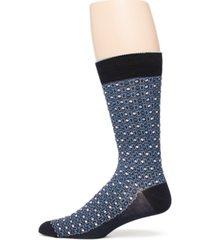 perry ellis portfolio men's geo pattern socks