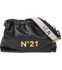 n ° 21 eva pouch bag with logo