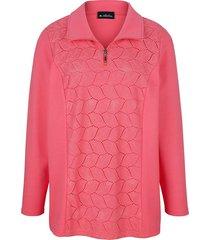 sweatshirt m. collection koraal