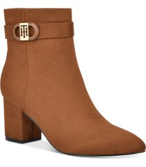 tommy hilfiger halliri booties women's shoes