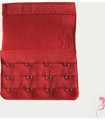 op en top zwanger beha verlenger 4 haakjes met extra lang elastiek rood
