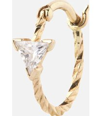 maria black women's viper earring - gold