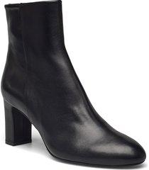 booties shoes boots ankle boots ankle boot - heel svart billi bi