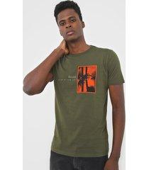 camiseta ellus tropical verde