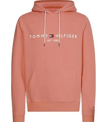 hoodie logo koraal