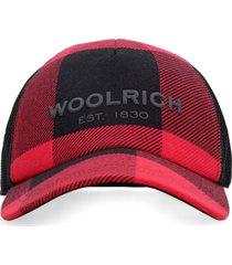 woolrich logo baseball cap