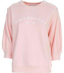 philosophy di lorenzo serafini 3/4s sweatshirt
