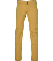 meyer jeans m5 - slim fit - geel