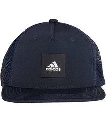 bonã© adidas snaptrucker cap azul - azul - dafiti