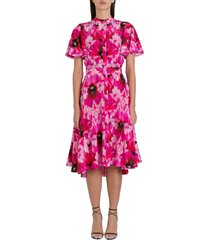 alexander mcqueen floral cocktail dress