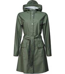 rains regenjas curve jacket olive