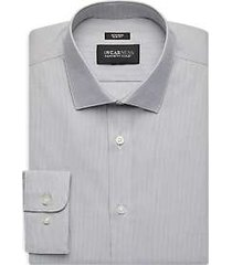 awearness kenneth cole gray stripe slim fit dress shirt