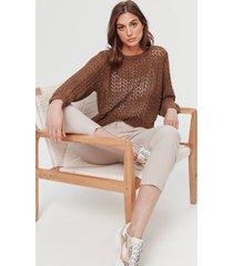 azurowy sweter