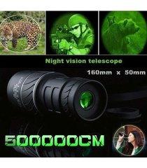 nuevo day night vision 40x60 hd óptico monocular caza