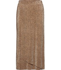 sc-nellie lång kjol brun soyaconcept