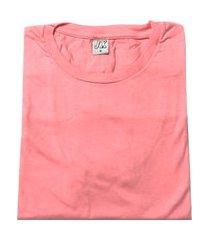 camiseta lisa masculina adulto rose rosa