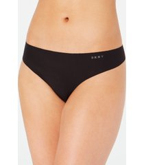 dkny litewear cut anywhere logo thong underwear dk5026