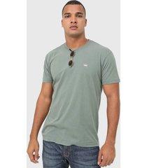 camiseta osklen vintage coroa verde