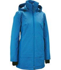 giacca tecnica lunga con riflettenti (blu) - bpc bonprix collection