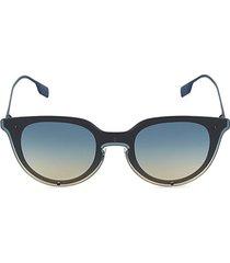 be 3102 57mm round sunglasses