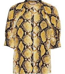 vanessa blouses short-sleeved geel custommade