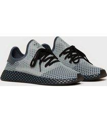 adidas originals deerupt runner sneakers blue/black