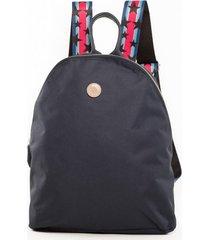 mochila azul merope indiana