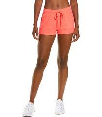 alo daze shorts, size large in pink lava at nordstrom