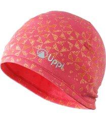 gorro skintech 2000 beanie rosa fuerte lippi