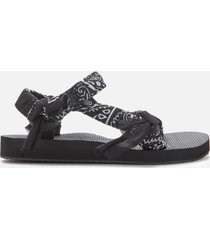 arizona love women's trekky bandana sandals - black - uk 8