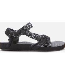 arizona love women's trekky bandana sandals - black - uk 5